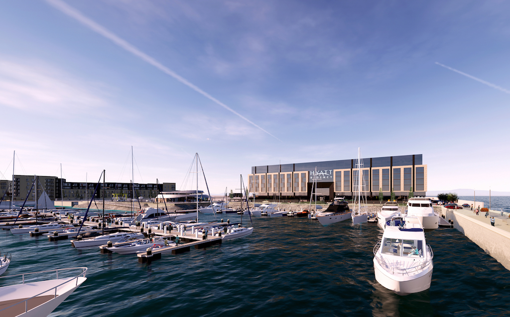 hyatt marina in edinburgh