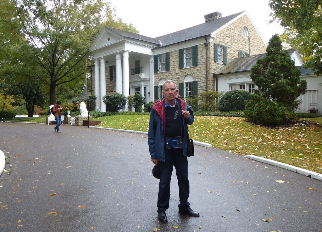 Graceland mansion in Memphis