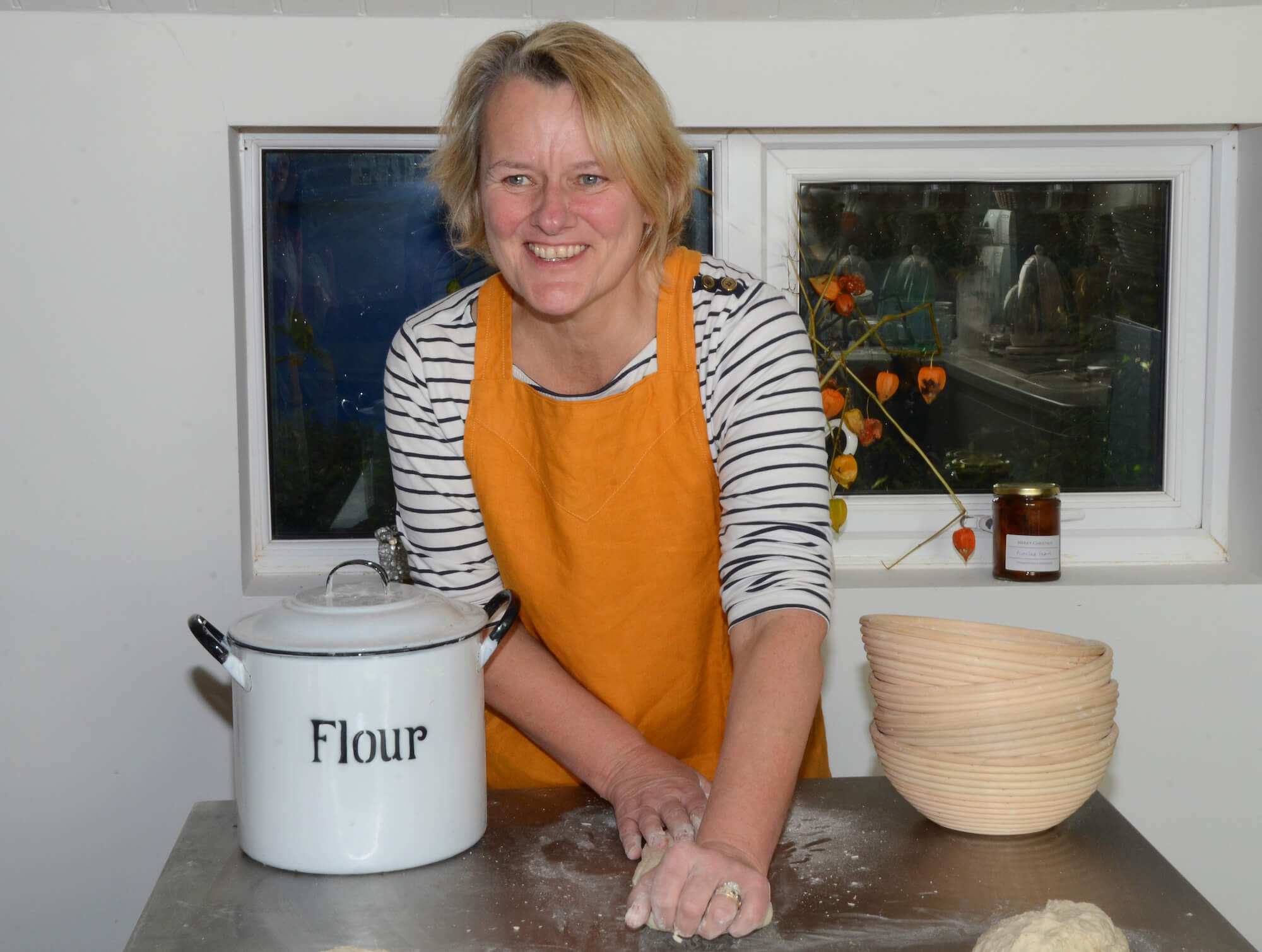 Join Ruth's kitchen workshop and become